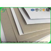 Quality 100 x 70 cm 170gsm 180gsm 230 grs / M2  white side coated duplex board grey back suitable for inject print for sale