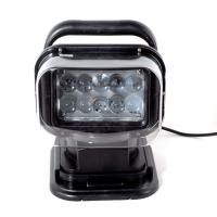 Quality 50W  4000lumens 12DV Cree LED Marine Remote Control Spotlight Offroad Truck Car Boat Search Light for sale