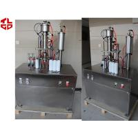 Quality Refrigerant Aerosol Spray Filling Machine , Under Cap Vacuum Semi Automatic Aerosol Filling Machine for sale