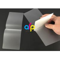 Quality Card Membrane Clear Laminating Pouches Film Different Thickness Optional for sale