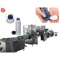 Quality Automatic Aerosol Filling Line Shaving Gel / Shaving Foam Packaging 2000-3200 Cans/ hr for sale