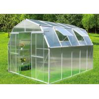 Quality Portable One Stop Gardens Greenhouse Commercial Galvanized Steel Frame for sale