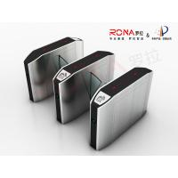 Quality Indoor Automatic Flap Barrier Gate Self Checking For Intelligent Office Building for sale