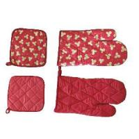 Quality 100% Cotton Printed Mitts (LYOM) for sale