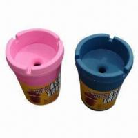 Buy cheap Melamine ashtrays, customized logos, sizes and shapes are accepted from wholesalers