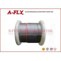 Quality TYKYO Elevator Steel Wire Rope With Full Steel Core For TESAC 8*19S IWS for sale