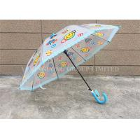 Quality Customized Clear Long Umbrella , Transparent Dome Umbrella With Lace Edge for sale