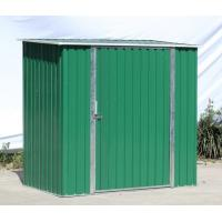 China Hot Dipped Galvanized Steel Metal Storage Shed Flat Roof Garden Sheds on sale