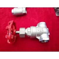 Quality 2 Inch/Full Port/Threaded  Gate Valve/ Cf8m Water Gate Valve/stainless steel gate valve/200WOG for sale