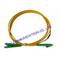 China LX.5 / APC - LC / APC fiber optic patch cables SFF Type Suitable For FTTH on sale