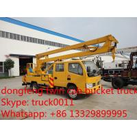 Quality factory sale best price Dongfeng duolika high altitude operation truck,dongfeng couble cab 12m-16m bucket truck for sale for sale