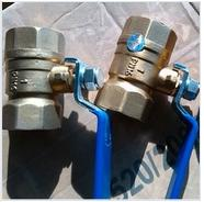 Quality Female forging brass ball valve with handle for sale