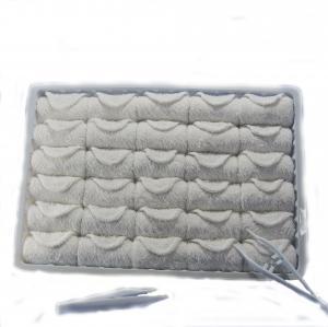 Quality Plastic Tray 25x25cm Disposable Cotton Towel for sale