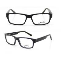 Quality Rectangle Retro Hand Made Acetate Optical Frames for Unisex , 54-17-140mm for sale