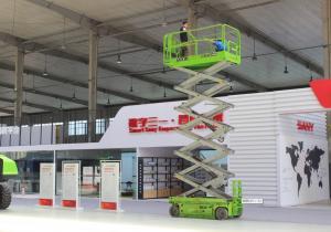 China Max.Lifting height 12m man lift elevating work platform 320kg capacity on sale