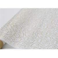 Quality Moistureproof Hot Stamping Tissue Paper One Side For Flower Wrapping for sale