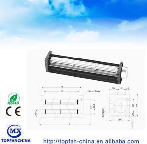 Buy cheap DC Fridge Fan 30*150mm cross flow industrial ventilation fans from wholesalers
