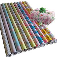 Quality 30inch x 120inch  80gsm coated paper custom printed gift tissue paper for sale