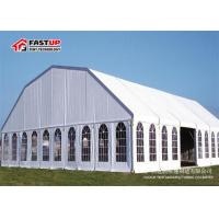 Quality Commercial Grade Large Storage Tents With Clear Window Tear Resistant for sale