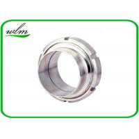 Quality DIN11851 Sanitary Unions Screwed Pipe Connection Fittings For Food Chemical for sale