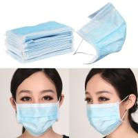 BFE99 Non Woven Products Protective Surgical Mask Medical Blue For Hospital
