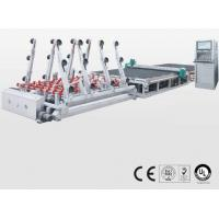 Quality Double Glazing Cnc Glass Cutting Machine with CE Certificated , SMC Valve for sale