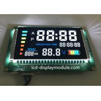 Quality PIN Connector VA 7 Segment LCD , Household Appliance Negative LCD Segment Display for sale