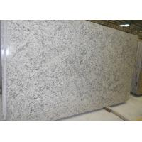 Quality White Bianco Romano Granite Countertops , Solid Granite Bath Countertops for sale