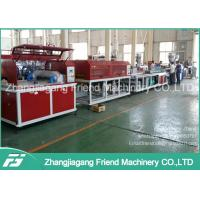 Quality 100-400kg/H Capacity WPC Profile Extrusion Line For Door Frame Making for sale
