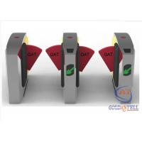 Quality Full Automatic Retractable Flap Barrier Gate With RS485 & Relay Signal Interface for sale