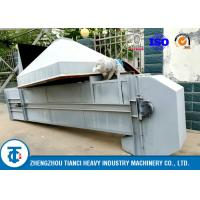 Quality 5 - 10T/H Fertilizer Conveyor Belt , Vertical Grain Pellets / Powder Bucket Elevator Conveyor for sale