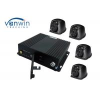 Buy cheap 4ch / 8ch 360 Degree SD Card Mobile DVR For Double - Decker Bus Security Monitoing from wholesalers