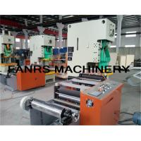 Quality Simens PLC Aluminum Foil Container Machine For Food Packaging Airline Container for sale