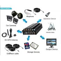 Quality 4CH AHD 720P 2TB 3G HDD BUS DVR with GPS 4G WIFI People Counter for option for sale