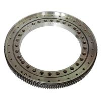 Quality Worm slewing drive for construction machines(1055x1445x182mm), slewing ring bearings for sale