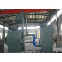 Quality Springs Cleaning Steel Shot Blasting Machine Rubber Tracked Type Customized Color for sale