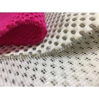 Quality Anti - Static Polyester Air Mesh Fabric For Sports Shoes / Suitcases Free Sample for sale