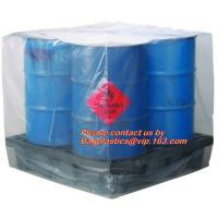 Quality China wholesale pe plastic bag of waterproof pallet covers, black pe plastic waterproof pallet covers for sale