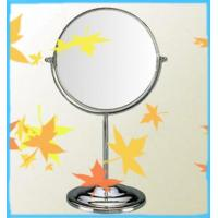 Quality round metal framed mirror with plated chrome of Y008B for sale