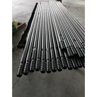 Quality T38 T45 T51 Mining Rock Drilling Tools Thread Extension Rods With 600mm - 6400mm Length for sale