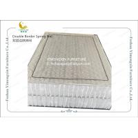 Quality Mattress Individually Pocketed Coils With Double Frame Reinforcement OEM Service for sale