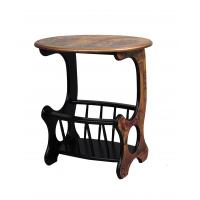 Quality new style Wooden magazine rack  magazine stand stable holder wood 124-167,56.7*39.6*57cm for sale