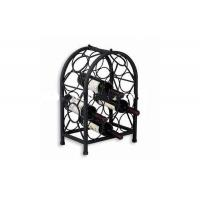 Quality Elegant design metal wine racks for hotel for sale