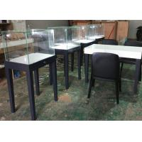 Quality Large Qty Exhibition Display Cases Matte Gray Color Modern Simple Design for sale