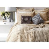 Quality 100% Cotton Waves Embroidered Full Size Bed Sets Real Simple 4 Pcs For Home for sale
