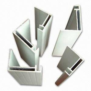 Quality Custome 60 × 35mm Solar Panel Aluminium Frame Electrophoresis Aluminum Extrusion Profiles for sale