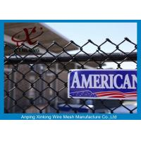 Quality Durable Chain Link Mesh Fence For Basketball Ground Or Courtyard for sale