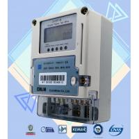 Quality Card Prepayment Wireless Electricity Meter ,  6 Digits Single Phase Kwh Meter for sale