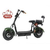 Buy cheap New Arrival Cictycoco 2 Seat 1000w 60v Fat Tire Electric Scooter from wholesalers