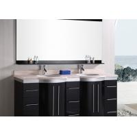 Quality Bathroom Vanity Countertops Indoor Artificial Stone Double Vanity Tops for sale